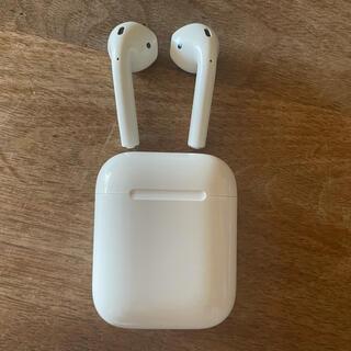 Apple - Airpods 極美品 第2世代 wireless充電なし