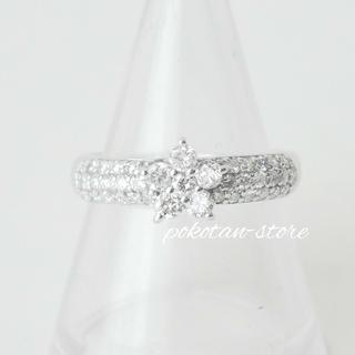 PonteVecchio - 新品同様【ポンテヴェキオ】K18WG  ダイヤモンド 0.66ct リング