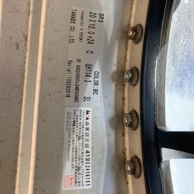 【中古】SSR SP3 20インチ深リム 自動車/バイクの自動車(ホイール)の商品写真