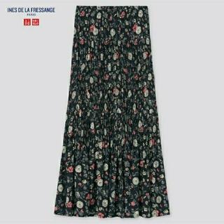 ユニクロ(UNIQLO)のユニクロ ツイストプリーツロングスカート(ロングスカート)