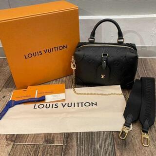 LOUIS VUITTON - 超美品   ルイ ヴィトン プティット・マル スープル ショルダーバッグ 黒