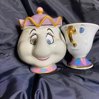 Disney - ポット婦人 カップ ティーカップ セット