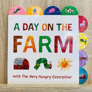 英語絵本 エリックカール はらぺこあおむし A Day on the Farm(絵本/児童書)
