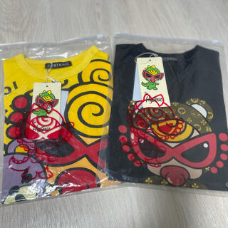 キッズ半袖Tシャツ サイズ120イエロー、130ブラック新品未使用品送料無料