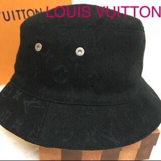 ルイヴィトン(LOUIS VUITTON)の☆ LOUIS VUITTON ☆ シャポー・モノグラム  デニムハット(ハット)
