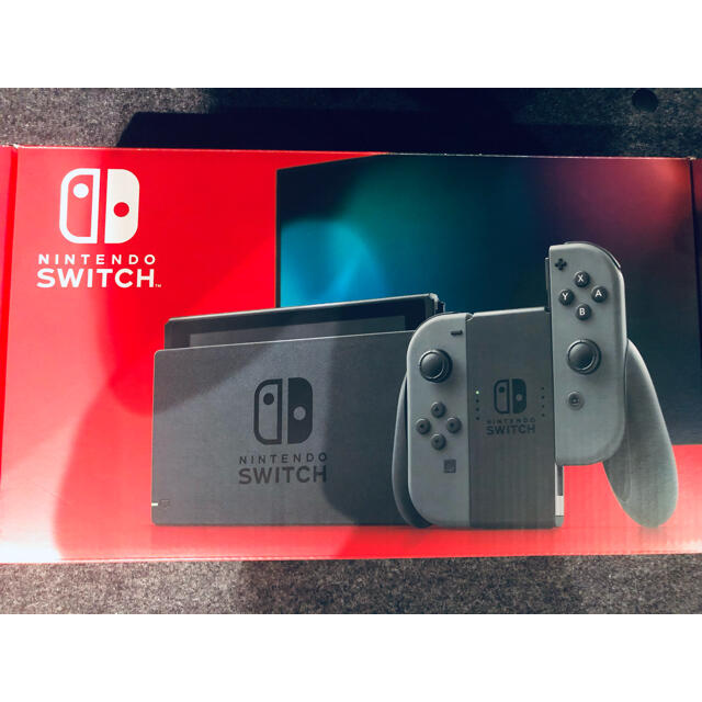 Nintendo Switch(ニンテンドースイッチ)の極美品 Nintendo Switch ニンテンドースイッチ本体  グレー エンタメ/ホビーのゲームソフト/ゲーム機本体(家庭用ゲーム機本体)の商品写真