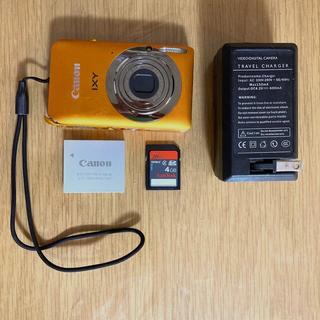 Canon -  CANON IXY 210F オレンジ