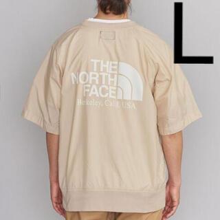 THE NORTH FACE - ノースフェイス パープルレーベル H/S CREW NECK 新品 L ベージュ