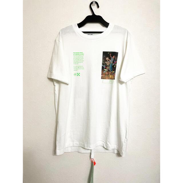 OFF-WHITE(オフホワイト)の訳あり offwhite オフホワイト 半袖 Tシャツ ホワイト メンズのトップス(Tシャツ/カットソー(半袖/袖なし))の商品写真