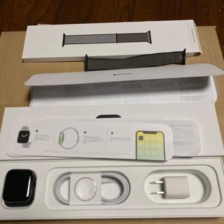 Apple Watch - Apple Watch Series 5 40mm ブラック ステンレススチール