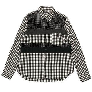 ブラックコムデギャルソン(BLACK COMME des GARCONS)の37-30)ブラック コムデギャルソン ギンガムチェックシャツ XL (シャツ)