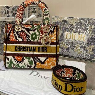 ディオール(Dior)のLADY D-LITE ミディアムバッグ(トートバッグ)