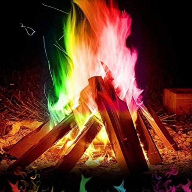 マジックファイヤ 2個  FIRE スポーツ/アウトドアのアウトドア(ストーブ/コンロ)の商品写真