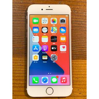 iPhone - iPhone 6s 16GB Rose gold SIMフリー