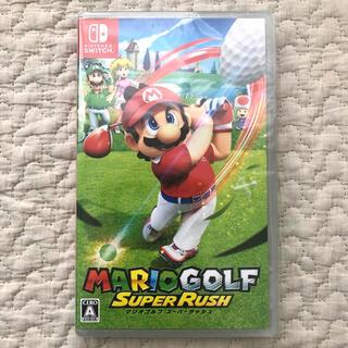 Nintendo Switch - マリオゴルフ スーパーラッシュ スイッチ ソフト