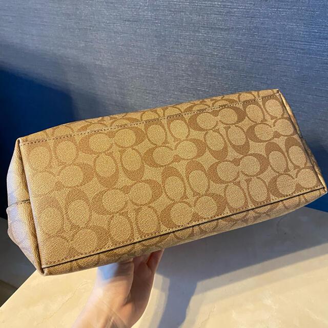 COACH(コーチ)の【美品】コーチ トートバッグ/ピンク レディースのバッグ(トートバッグ)の商品写真