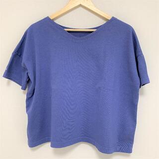 テチチ(Techichi)の【新品】【lugnoncure】トップス・カットソー・Tシャツ ブルー(Tシャツ(半袖/袖なし))