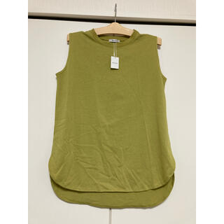 イング(INGNI)のイングノースリーブ ピスタチオ色 グリーン(Tシャツ(半袖/袖なし))