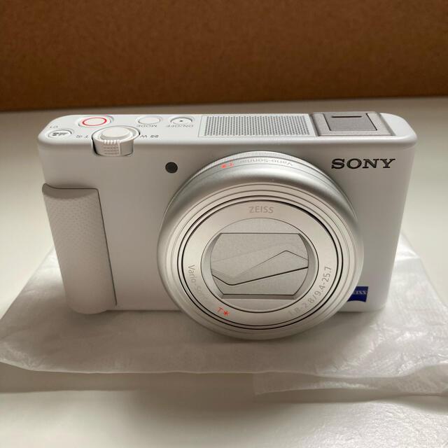 SONY(ソニー)のSONYデジタルカメラ VLOGCAM ZV-1 スマホ/家電/カメラのカメラ(デジタル一眼)の商品写真