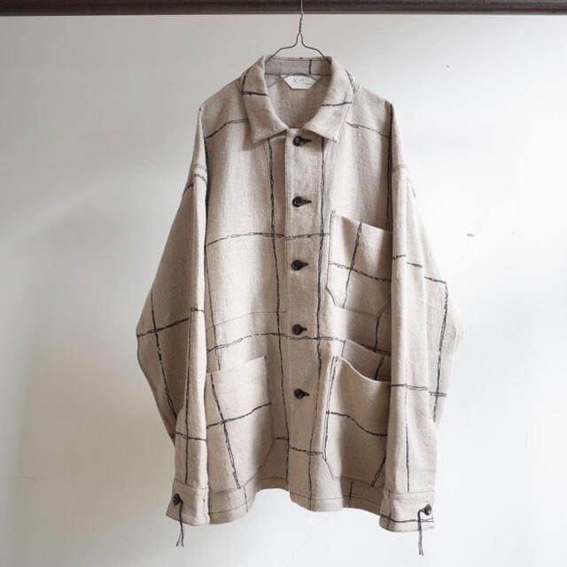 COMOLI(コモリ)のancellm 21ss メンズのジャケット/アウター(カバーオール)の商品写真