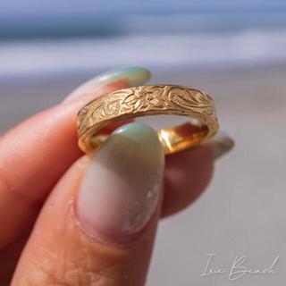 アリシアスタン(ALEXIA STAM)の最終値下げ!irie beach ゴールドリング(リング(指輪))