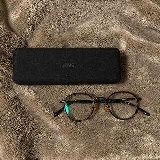 ジンズ(JINS)のJINS 眼鏡 MCF-20S-010 386 ブラウンデミ(サングラス/メガネ)
