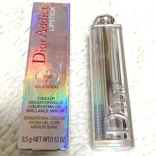 Dior - ディオール アディクト リップスティック 【GLITTER】750 ロックン …
