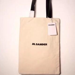 Jil Sander - JIL SANDER  ミディアムサイズキャンバス トートバッグです。