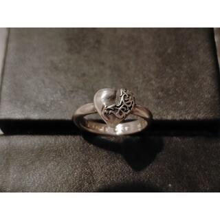 Chrome Hearts - 中古 クロムハーツ 指輪 約8号 バブルガムリング/スモールハート