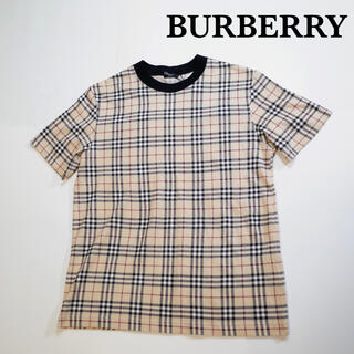 BURBERRY - BURBERRY LONDON ノバチェック Tシャツ  バーバリー