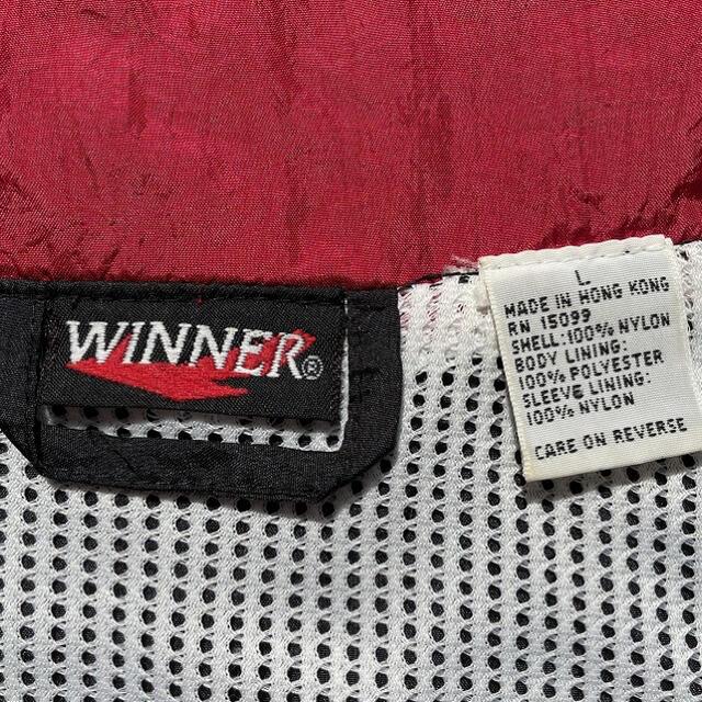 Santa Monica(サンタモニカ)の90s 古着 切り替え ナイロンジャケット ユニセックス ビンテージ メンズのジャケット/アウター(ナイロンジャケット)の商品写真