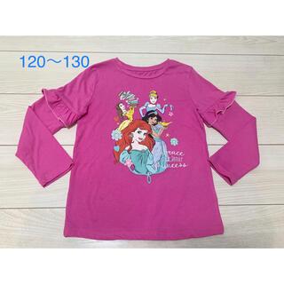 Disney - 【お値下げしました】ディズニープリンセス ロンT 女の子 120〜130