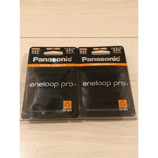パナソニック(Panasonic)のエネループ プロ BK-4HCD/4C  4本入り×2個 単4電池(バッテリー/充電器)