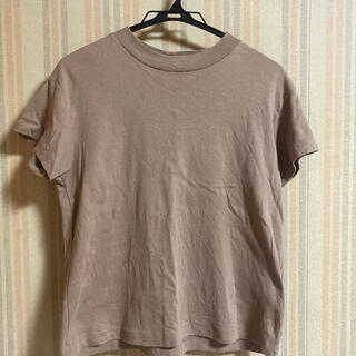 GU - GU Tシャツ カットソー ブラウン