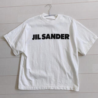 Jil Sander - 今期 ジルサンダー ロゴTシャツ XS