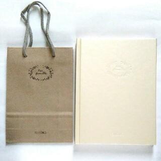 フェリシモ(FELISSIMO)の非売品 ノート&ペーパー バッグ セット(その他)
