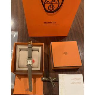 エルメス(Hermes)の超極美品 エルメス 腕時計 ブルージーン 木箱(腕時計)
