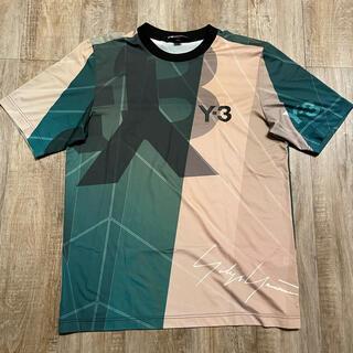 ワイスリー(Y-3)の■Y-3 フットボールメッシュT-shirts(Tシャツ/カットソー(半袖/袖なし))