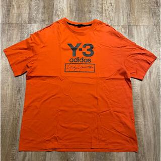 Y-3 - ■Y-3 19ss stackedlogo T-shirts orange