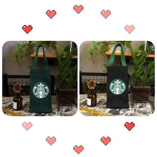 Starbucks Coffee - 【スターバックス海外限定】日本未発売 ドリンクバック 小物入れ 黒色  一点