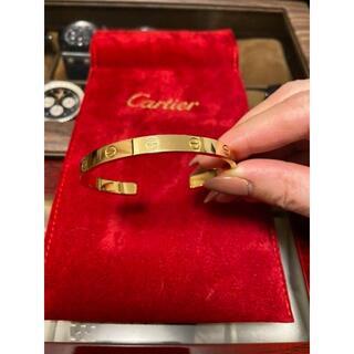 Cartier - カルティエ オープン ラブブレス イエローゴールド YG #18