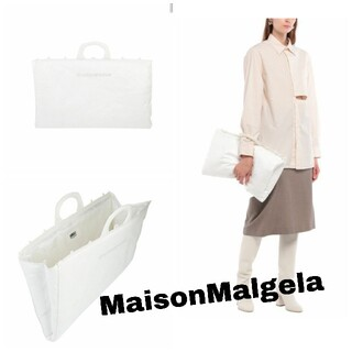 Maison Martin Margiela - MM6 Maison Margiela/ハンドバッグ/ホワイト