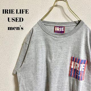 アイリーライフ(IRIE LIFE)のIRIE LIFE アイリーライフ メンズ 半袖Tシャツ 胸ポケット M(Tシャツ/カットソー(半袖/袖なし))