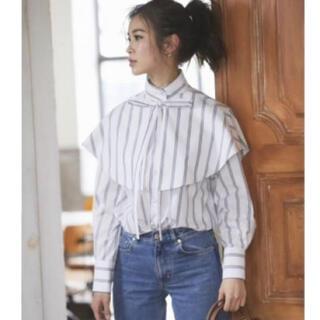 Chesty - seventen by miho kawahito パールボタンシャツ