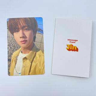 防弾少年団(BTS) - BTS Butter Peaches JIN ジン トレカ メッセージカード