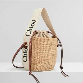 Chloe - Chloe クロエ Woody スモールカゴバッグ