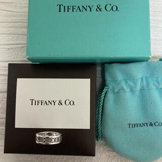 Tiffany & Co. - 【研磨済♫特価!】ティファニー アトラス リング 10号