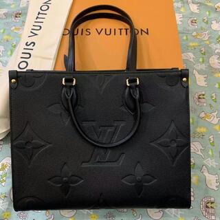 LOUIS VUITTON - Louis Vuitton ルイヴィトンオンザゴー PM トート バック 黒