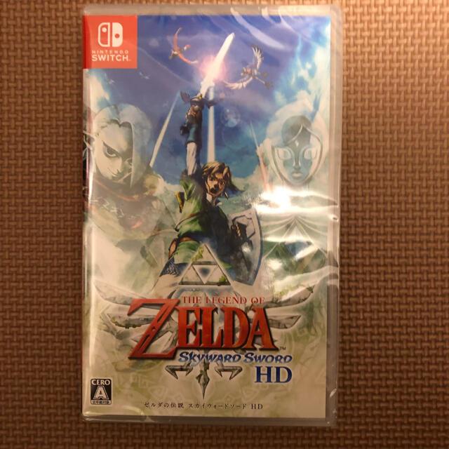 Nintendo Switch『ゼルダの伝説 スカイウォードソード HD』 エンタメ/ホビーのゲームソフト/ゲーム機本体(家庭用ゲームソフト)の商品写真