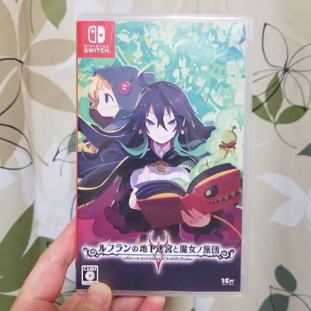 Nintendo Switch(ニンテンドースイッチ)のルフランの地下迷宮と魔女ノ旅団 Switch エンタメ/ホビーのゲームソフト/ゲーム機本体(家庭用ゲームソフト)の商品写真
